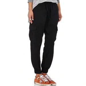 NSF Ivet Cargo Jogger Sweat Pants Black